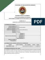 Silabo-Investigacion de Operaciones (e) (2019-b)