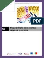 manual - ufcd 3489 - ORÇAMENTAÇÃO DE PRODUTOS E SERVIÇOS TURÍSTICOS