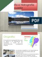 Orografía en el Ecuador