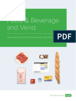 Vend POS - Industry-Food-Beverage-Retail
