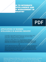 FRAMEWORK TO INTEGRATE BUSINESS INTELLIGENCE AND KNOWLEDGE MANAGEMENT