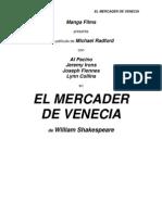 Mercader de Venecia,El,Shakespeare