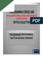 1CORSO LND Tattica Principi, Transizioni