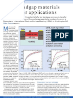Wide Bandgap semiconductors