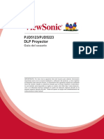 ViewSonic PJD5123 SVGA 3D Ready DLP Projector Manual - Spanish.pdf