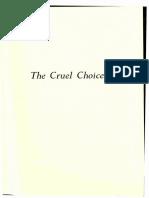 The Cruel Choice