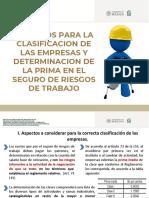 3.3 Clasificación de Empresa y Prima de Seguro