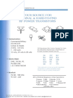 ASI RF Power Transistors