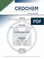 Microchem ASTM E2315 Study Report NG6838 05MAR2016