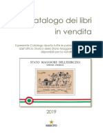 Catalog of Italian General Staff Books