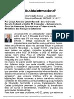 Cooperação tributária internacional