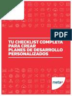 Checklist 2 Completa Crear Planes Desarrollo Personalizados