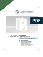 Smart Series Manual 02 SX 2000 90kW