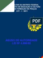 Abuso de Autoridade Cfp 2011