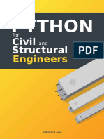 Python For Structural Engineers