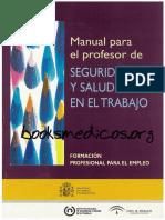 Manual para el profesor de Seguridad y Salud en el Trabajo_booksmedicos.org