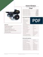 Ficha tecnica toyama TF55F