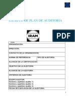 Anexo 2-Ejemplo  de plan de auditoria