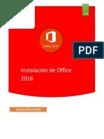 Instalacion de Office