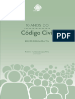 10 anos do Código Civil edição comemorativa