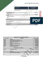 Hamilton LRT - Cost Consultant Estimate 2019