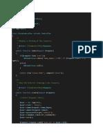 contoh sourcecode