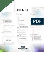 Reverberations 2010 Agenda