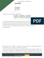 Ecuación de difusividad - La Comunidad Petrolera