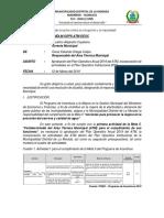Informe n003 - Solicitud de Aprobacion de Poa Atm 2019 e Incorporacion Al Poi