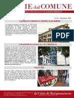 Notizie Dal Comune di Borgomanero del 18-12-2019