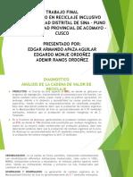 Expo Diplo Reciclaje Inclusivo