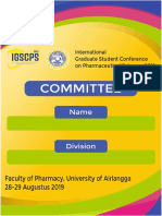 ID Card Panitia IGSCPS