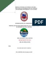 Informe de practica de campo final JULIO RUIZ