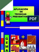 Aplicación Técnicas Preventivas