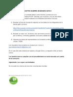 REQUISITOS GUERRA DE BANDAS 2019-2
