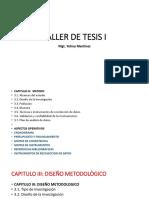 6 Pres Tesis I Cronograma y Presupuesto Dic 2019