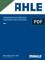 Mahle Catalogo Compressores de Ar Condicionado Automotivo 2019_2020