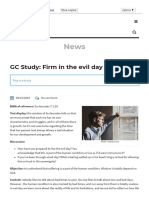 GC Study_ Firm in the evil day