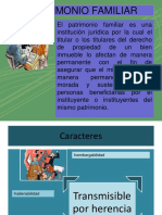 PATRIMONIO FAMILIAR ppt grupo 14