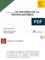 SEMANA 2 - CONTEXTO HISTÓRICO DE LA TERAPIA SISTÉMICA