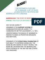 Grammar Final