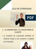 Desarrollo de Estrategias de Marketing