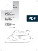 Manual plancha taurus artica 2800 zaffiro