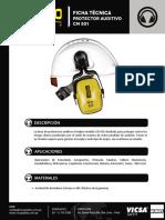 Protector Auditivo CM 501 Ficha Técnica.pdf