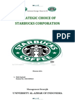 Journal Starbucks Analisis-Strategic Choice