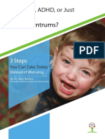 Mary Barber a Toddler Tantrum Guide