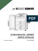 Manual de partes  Gestetner 2627/2635