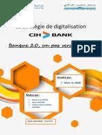 La Digitalisation Bancaire CIH