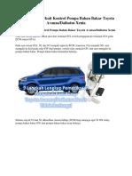 Pompa Bahan Bakar Toyota Avanza NR VE
