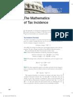 Mathematics of Tax Incidence